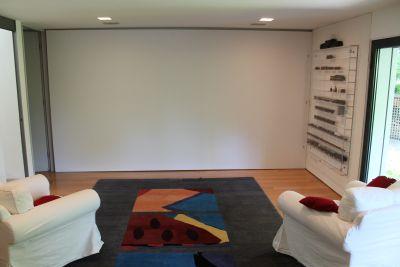 deckeneinbau leinwand multiformat. Black Bedroom Furniture Sets. Home Design Ideas